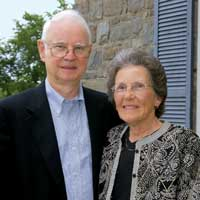 Phil '59 and Ann Mead at the annual Joel Bristol Associates breakfast